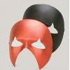 Geist phantom maske metallfarbig
