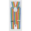 Clown adult suspenders