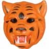 Tiger kindermaske aus gummi