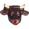 Masque taureau plastique