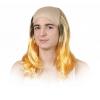 Crâne chauve avex cheveux
