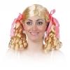 Schoolgirl wig with corkscrews