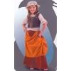 Maidservant medieval kids costume