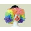 Clown bunte perücke