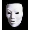 Mask white plastic maske to decorate