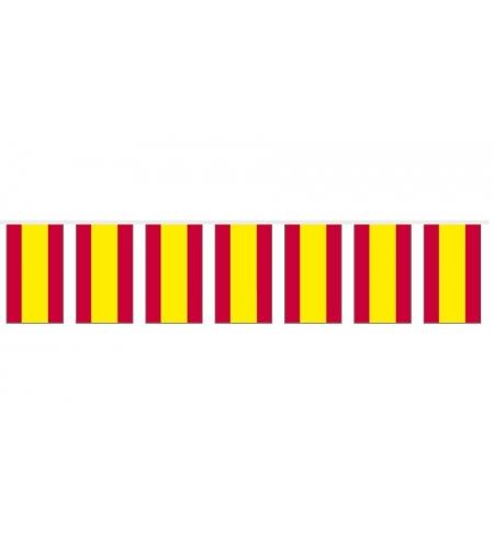 Guirlande drapeaux plastique