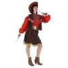 Cowgirl deluxe damen kostüm