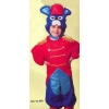 Mouse bell hop kids costume