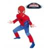 Déguisement de spiderman musculaire enfant