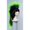 Wig punk with ponytail wig