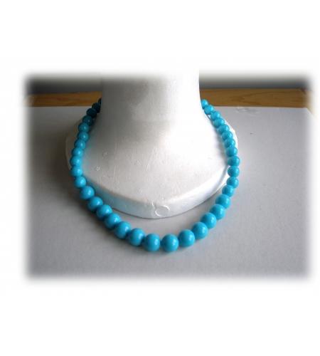 Collar flamenco dancer with plastic pearls