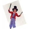 DÉguisement clown avec haut de forme