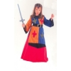 Medieval warrior lys girl costume