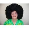 Afro riese perücke