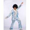 """Disco dancer 60""""s light blue"""