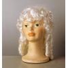 Peluca gran dama blanca