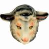 Masque mouton pvc