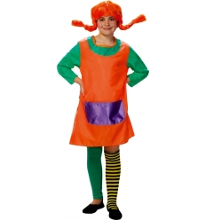 Pippi Longstocking kids costume