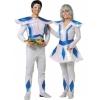 Astronaut/alien man costume