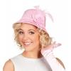 Chapeau rose femme