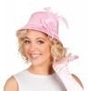 Hat pink for ladies