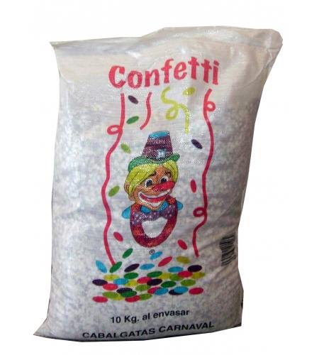 Saco confetti 10 kg