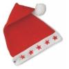 Santas mütze mit lichten