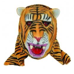Máscara de tigre em latex