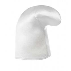Smurf fabric white cap