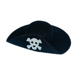 Sombrero pirata fieltro