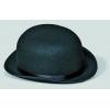 Chapeau melon feutre noir