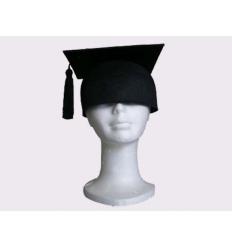 Chapéu finalista preto