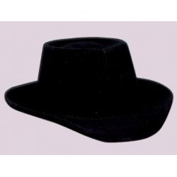 Chapeau cow boy floquÉ noir