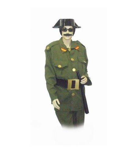 Guardia Civil man costume