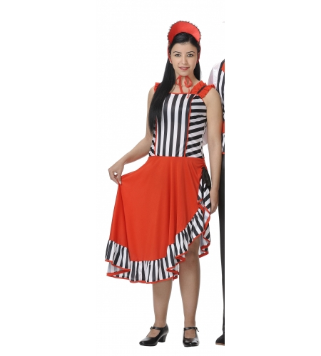 Chevalier ladies costume