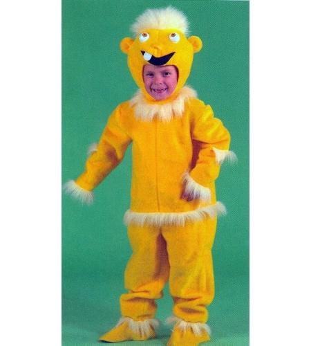 Doll yellow children s costume