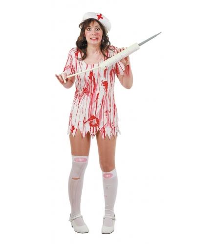 Crazy nurse costume
