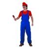 Plumber Mario costume