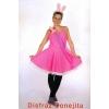 Sexy Bunny rosa Kostüm