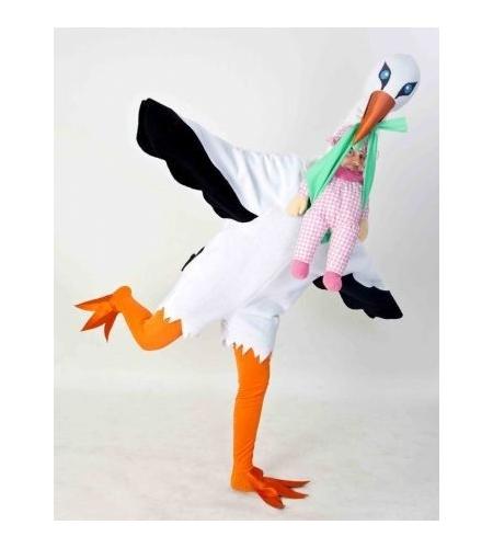 Stork costume adult