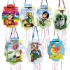 Piñata with drawings of different fairy tales