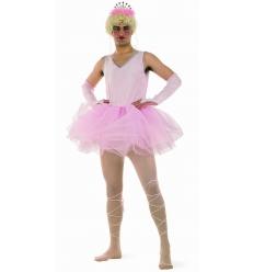 Ballerina man pink costume