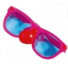 Clown glasses with nose big size