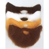 Barbe et moustache taille moyenne