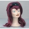 Vampiress wig with tarantula