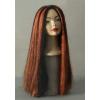 Perruque longue chevelure halloween
