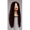 Perruque longue cheveux raides