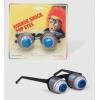 Scherzbrille mit augen augapfel