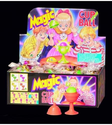 Magic cup ball