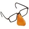 Óculos com nariz em plástico